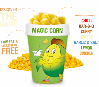 magic corn logo