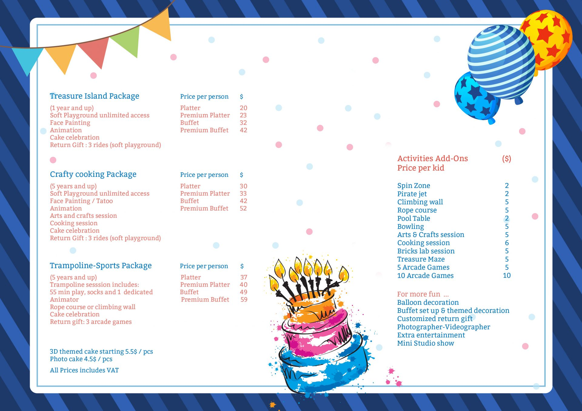 birthday brochure new
