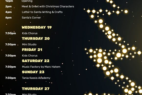 CHRISTMAS MARKET SCHEDULE