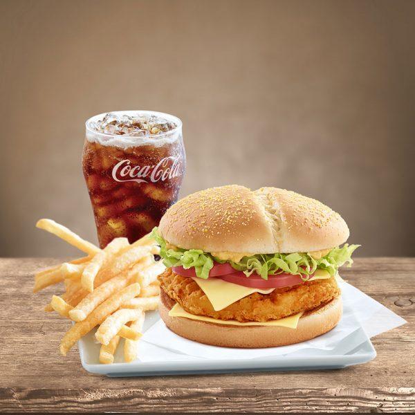 Citymall Lebanon - McDonald's burger meal