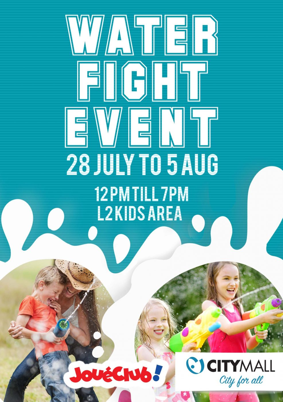 WATER FIGHT EVENT