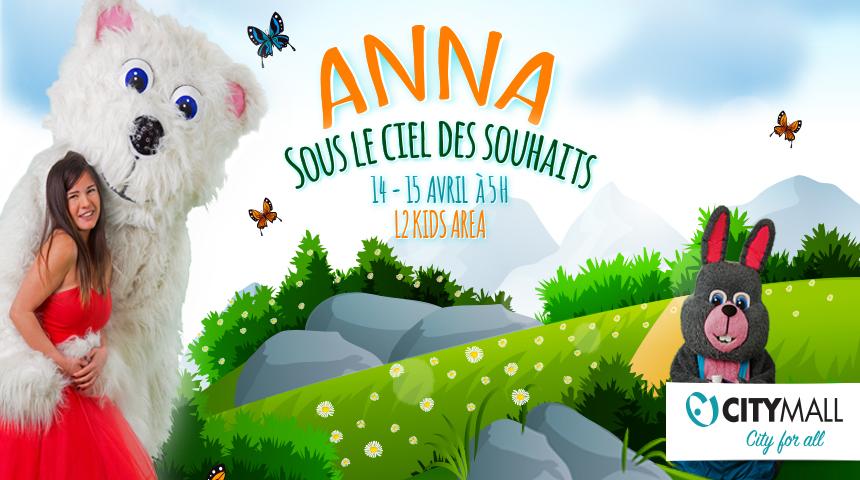 """ANNA """"SOUS LE CIEL DES SOUHAITS"""""""