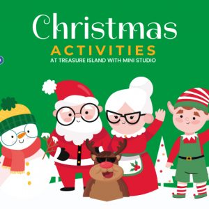 Christmas Activities at Treasure Island