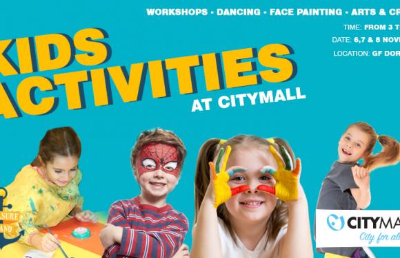 Kids activities at CityMall