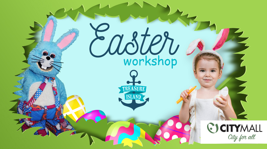 TREASURE ISLAND EASTER WORKSHOP