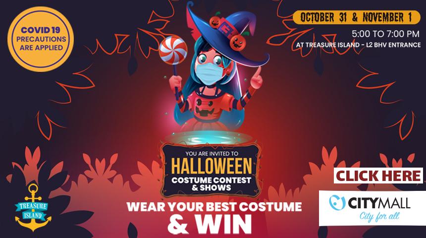 Halloween costume contest & activities at Treasure Island